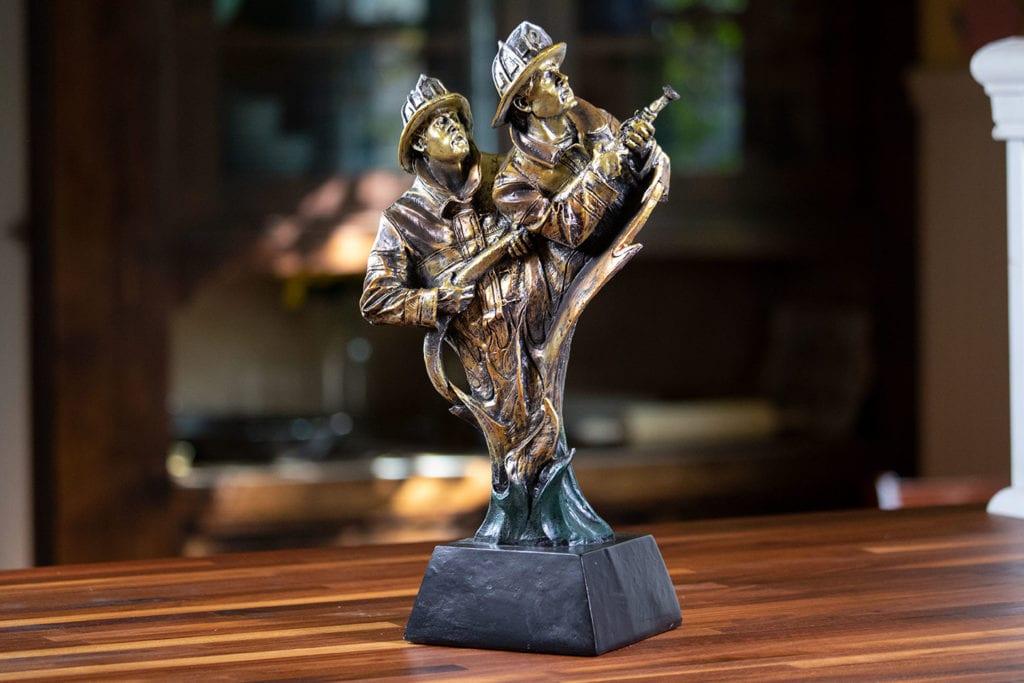 Bravura - Fireman Sculpture