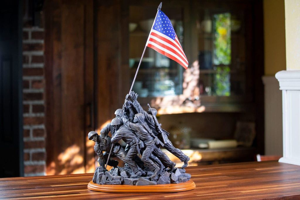 Large Iwo Jima Memorial