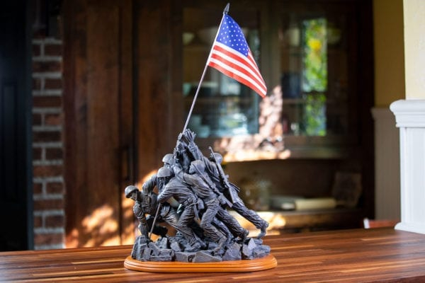 Large Iwo Jima Memorial