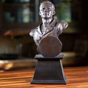 Hero Trophy Bust Sculpture