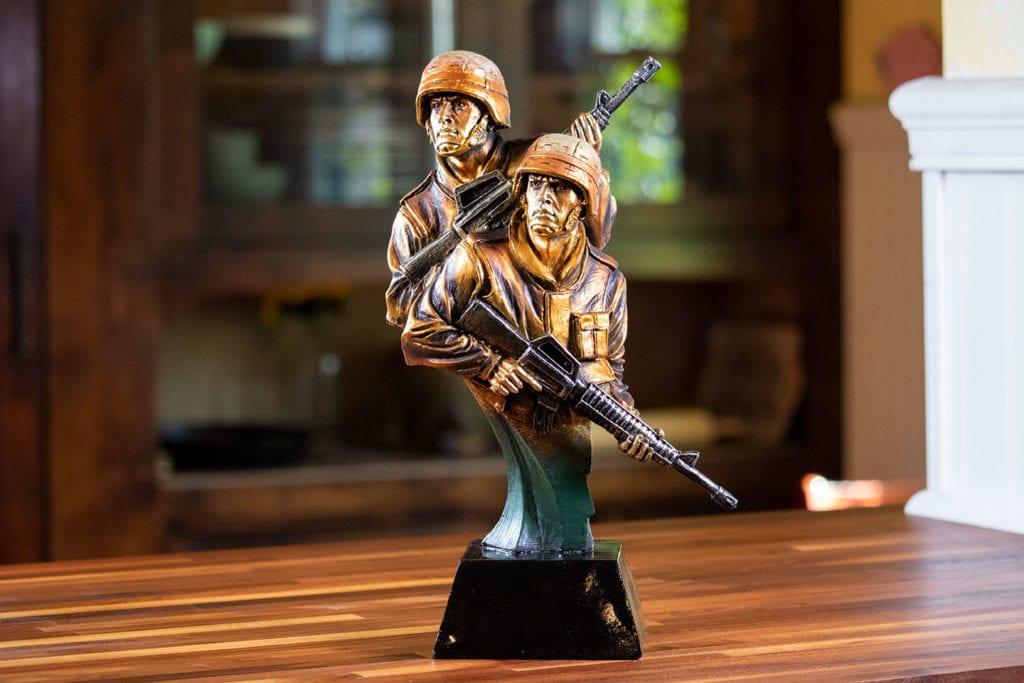 Bravura - Police Sculpture