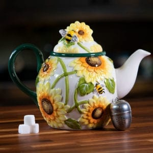 Hello Yellow Teapot