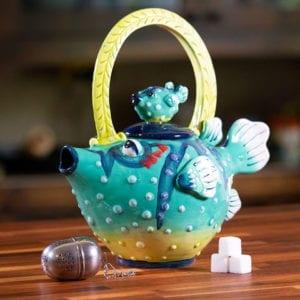 Puffer Fish Teapot