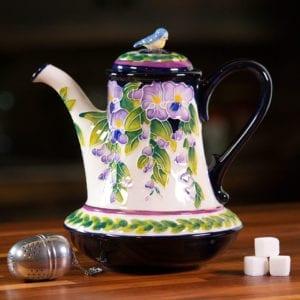 Wisteria Teapot