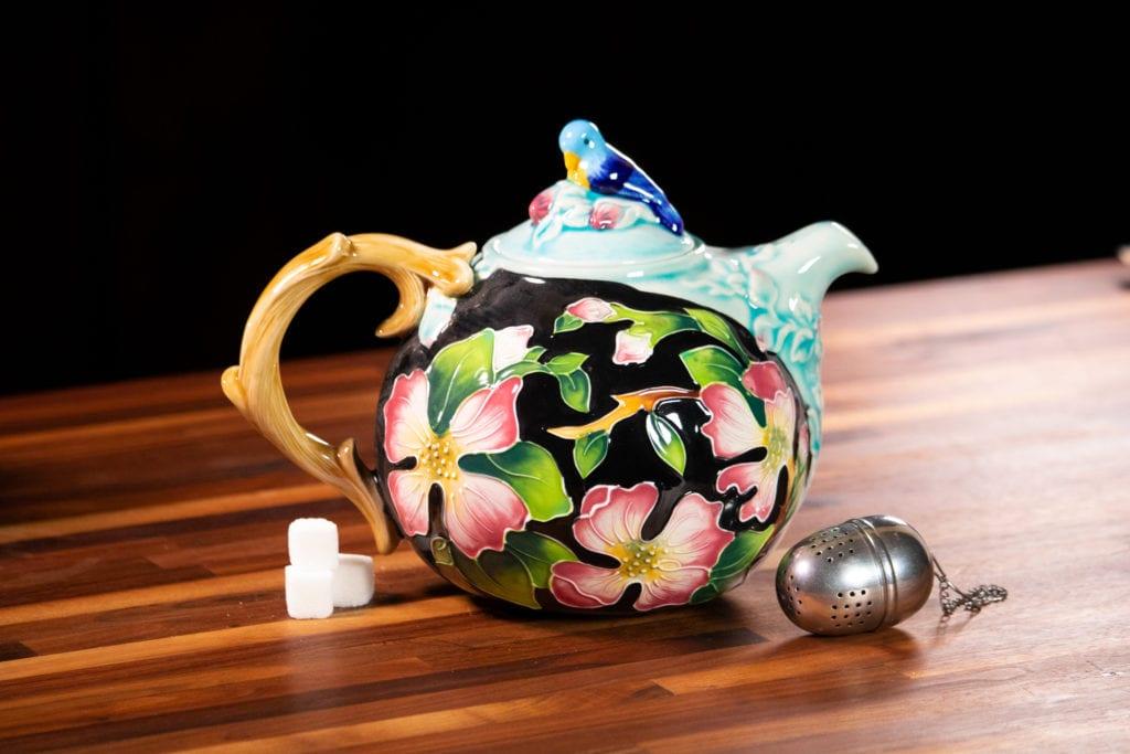 Dogwood Teapot