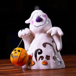 Halloween Ghost Tealight - Large