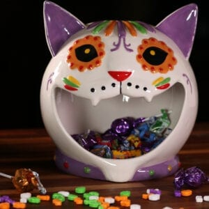 Day of the Dead Candy Bowl