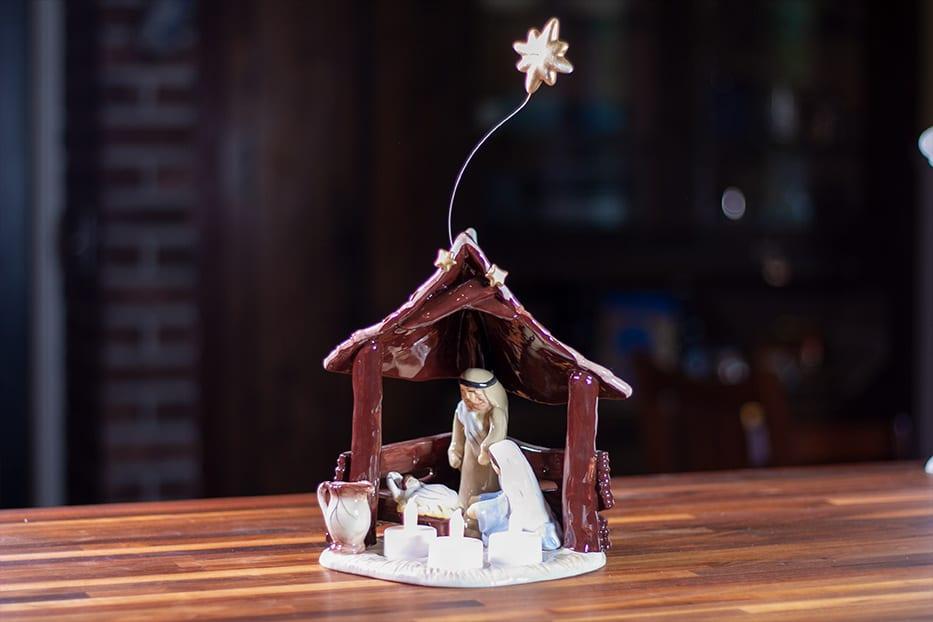 Nativity Tealight Holder
