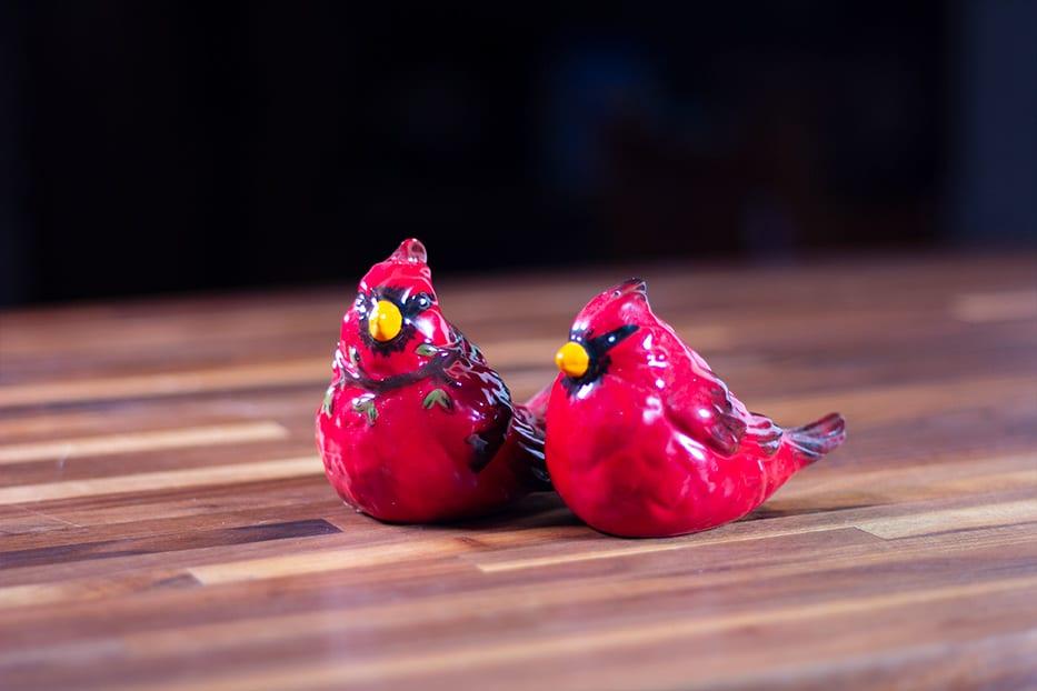 Cardinal Salt & Pepper