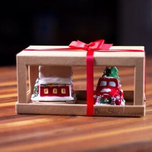 Christmas Truck and Barn S&P Set