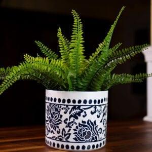 "China Charm Flower Pot 6"""