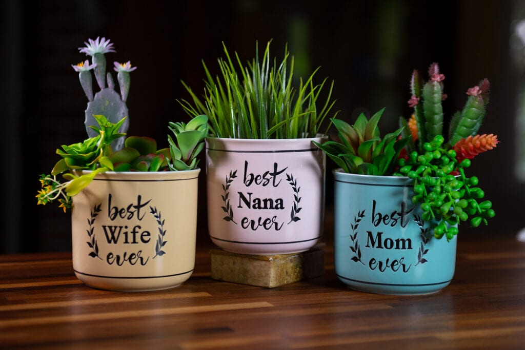 Best Ever Camp Planters