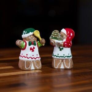Gingerbread S&P set