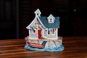 Nautical Boat Shop Candle House