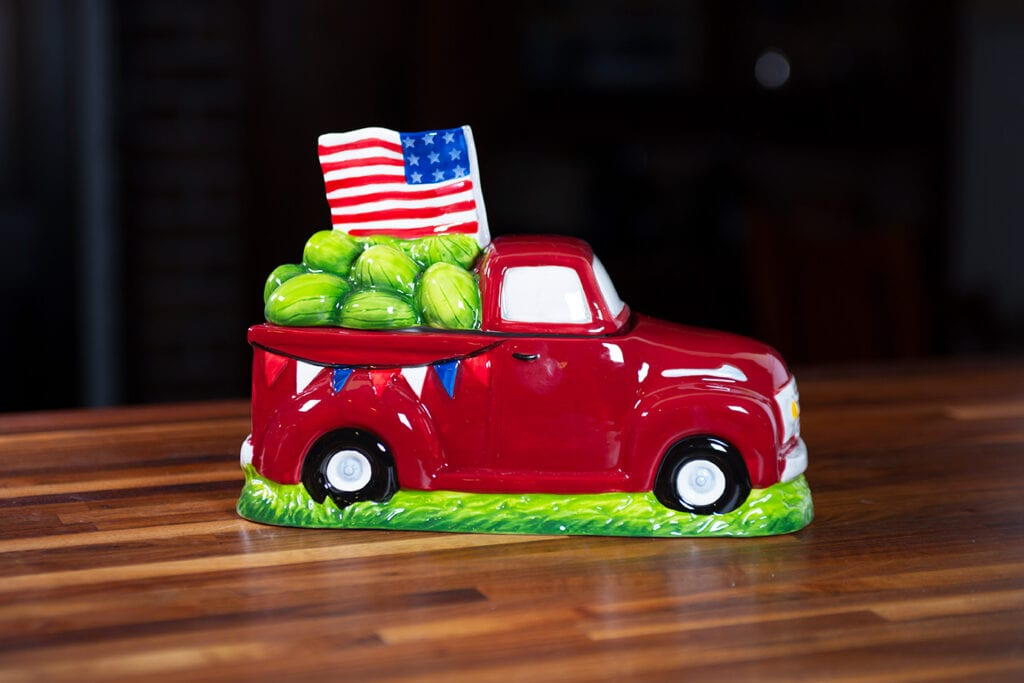 American Truck Cookie Jar