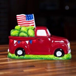 American Truck Cookie Jar