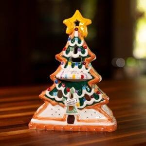 Gingerbread Tree Tealight Holder