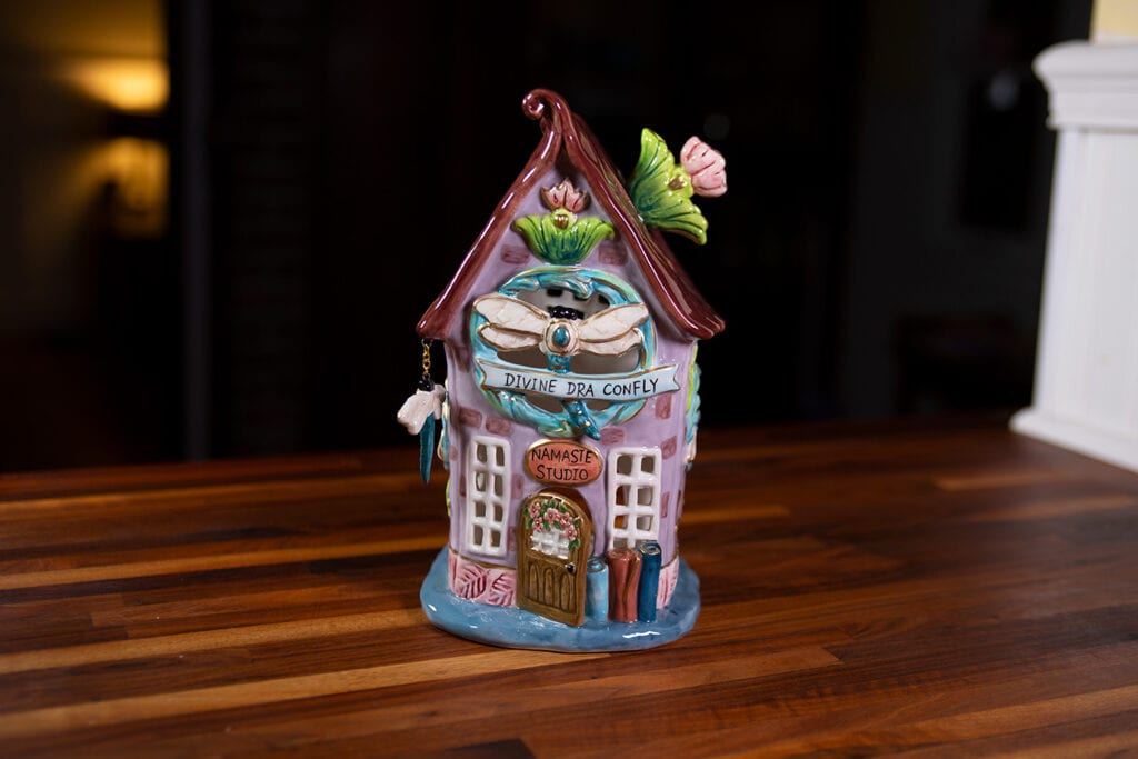 DIVINE DRAGONFLY CANDLE HOUSE