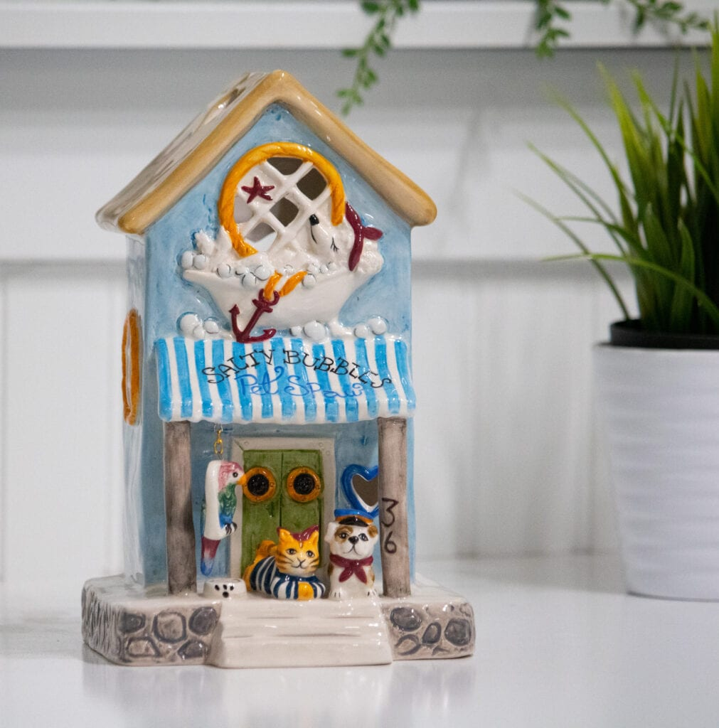 SALTY BUBBLES PET SPAW CANDLE HOUSE
