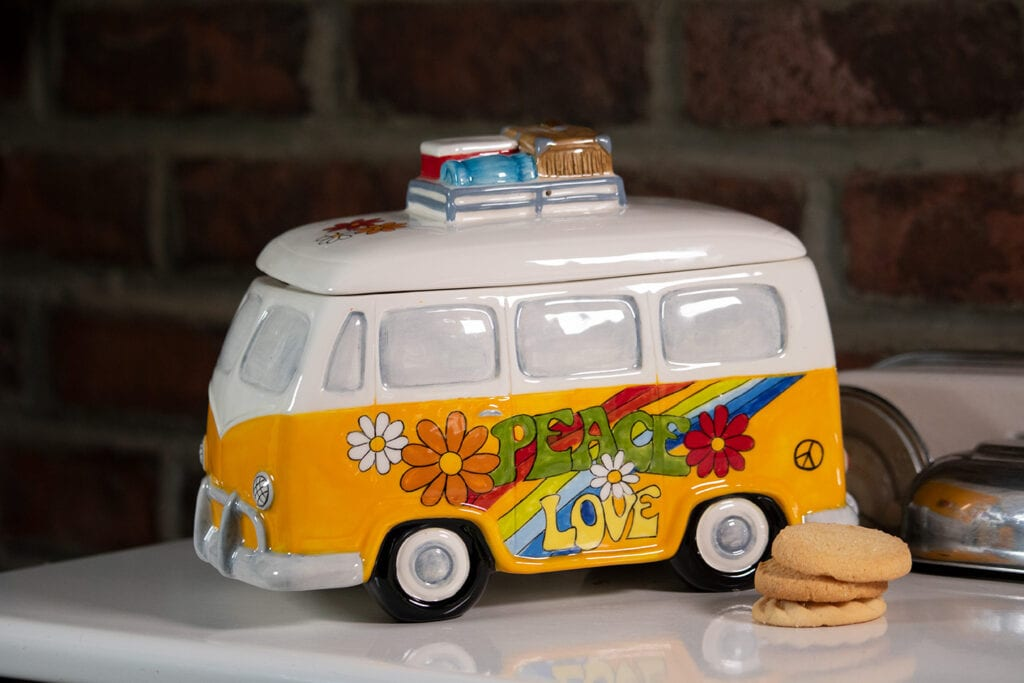 LOVE VAN COOKIE JAR