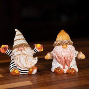 FALL GNOMES SALT & PEPPER SET