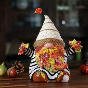 NUTS FOR FALL GNOME FIGURINE