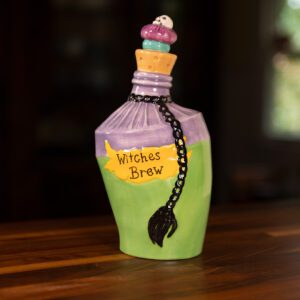 WITCHES BREW VIAL FIGURINE